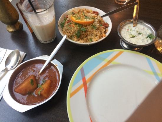 Purna Indian Restaurant: Chiken tikka biryani