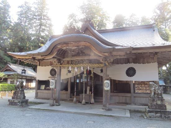 Harimakuni Ichinomiya Iwa Shrine : 拝殿