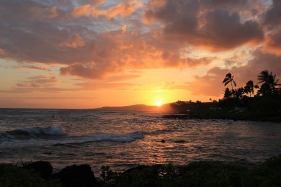 Sheraton Kauai Resort: sunset