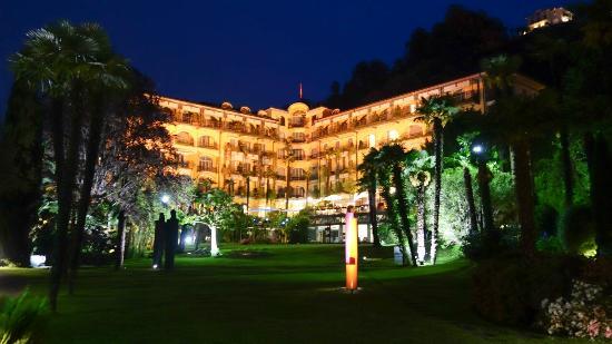 L Hotel La Nuit Picture Of Grand Hotel Villa Castagnola Lugano