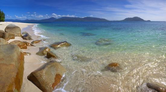 Fitzroy Island Resort : Nudey Beach