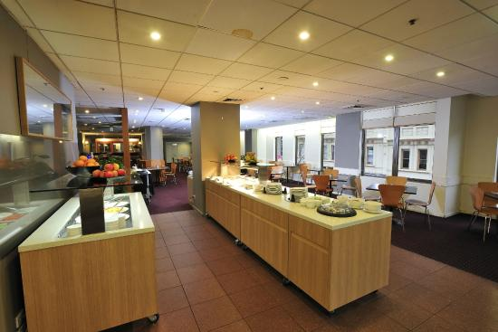 Metro Hotel Marlow Sydney Central: Buffet breakfast available