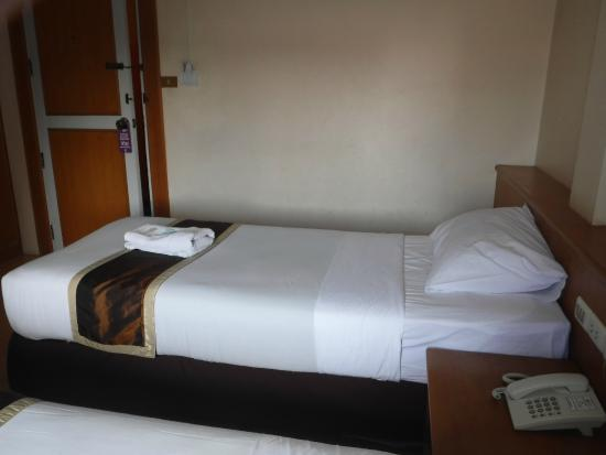 Rayong President Hotel: タオルやシーツは清潔