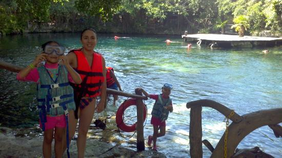 Ready for a swim in the Cenote