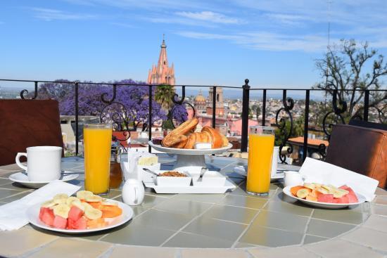 Desayuno En La Terraza Picture Of Casa Del Tio Hotel