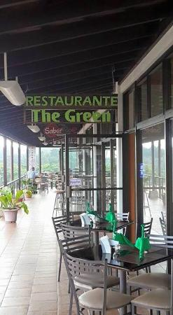 The Green Restaurant: Our sign