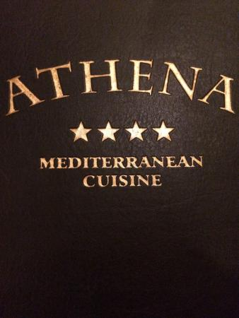 Pastichio with lemon potatoes picture of athena for Athena mediterranean cuisine