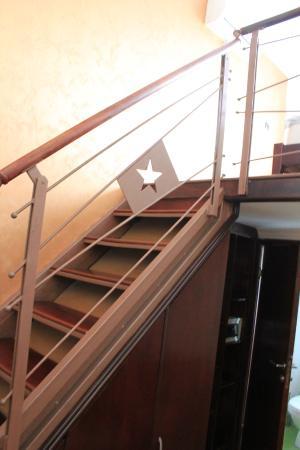 Happy Star Club Hotel: Obacht beim Aufsteigen