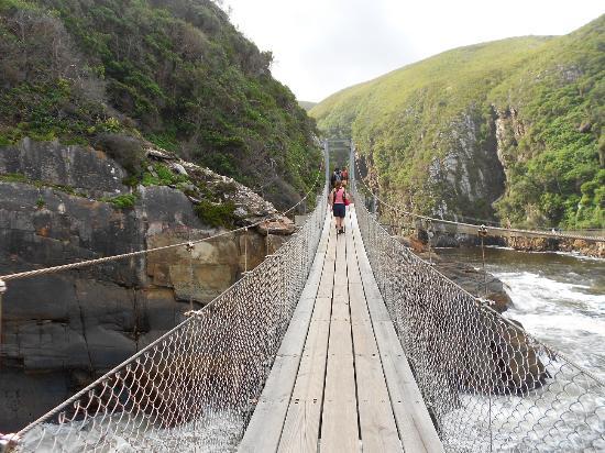 Untouched Adventures: Crossing the Suspension Bridge
