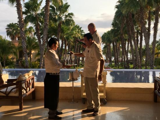 The St. Regis Punta Mita Resort: Champagne Sabering