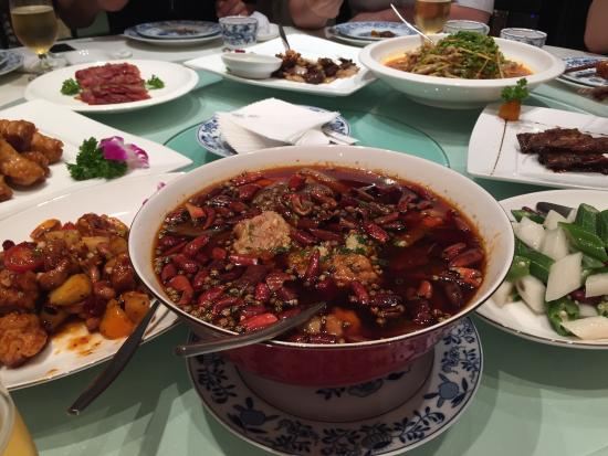 Madam Zhu's Kitchen (Wantong): Food - not as spicy as it looks like