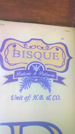 Bisque: bakery logo