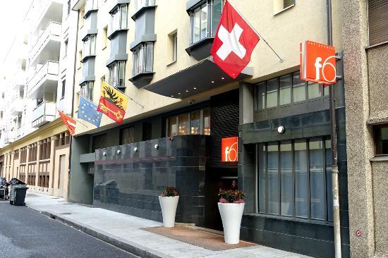 Design Hotel F6: ホテル正面