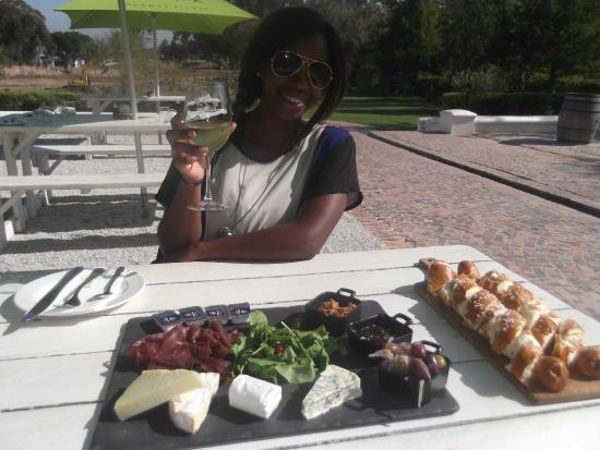 Warwick Wine Estate: Lunch platter