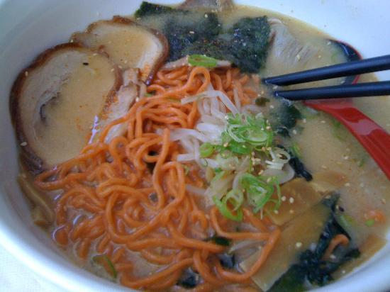 Nao Japanese Restaurant: Miso Chasu Ramen with Chilli Infused Noodle