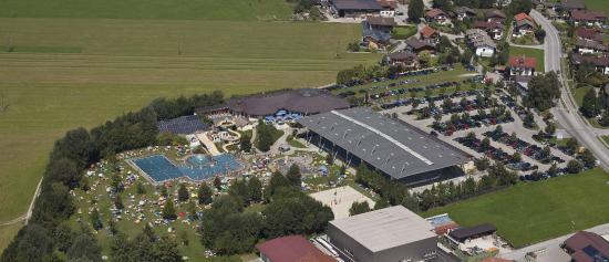 Ebbs, Austria: Freizeitpark Luftaufnahme