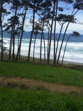 Navia, España: Playa de Frejulfe