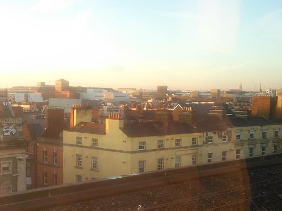 Westin Dublin: 部屋からの眺め。