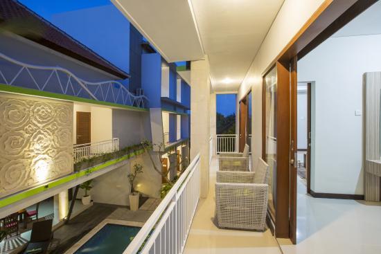 Casa Dasa Boutique Hotel Legian : Balcony