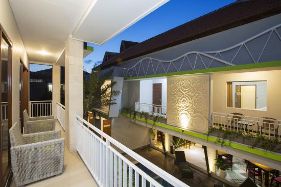 Casa Dasa Boutique Hotel Legian: Balcony