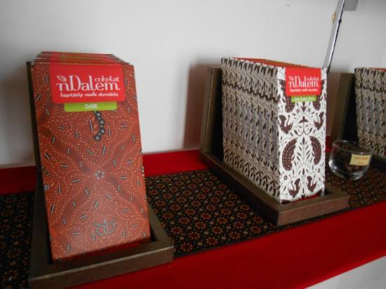 Gerai & Museum Cokelat nDalem: Produk Cokelat nDalem