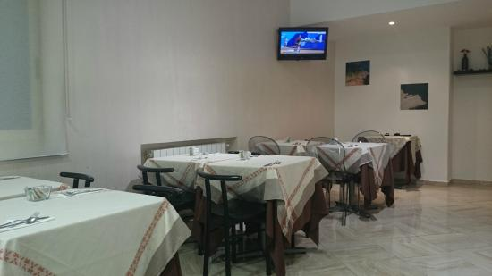 Hotel del Viale : a breakfast room