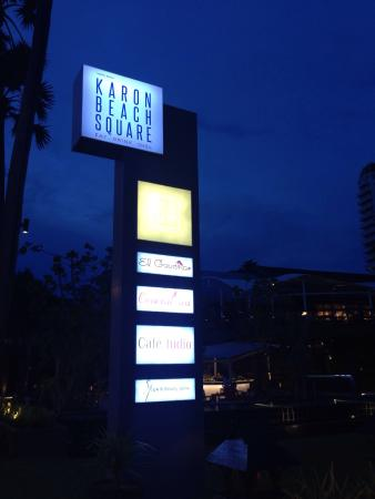 Karon Beach Square: Perpect chillng place on Karon beach!