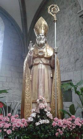 Statua Lignea Di San Martino Vescovo Foto Di Abbazia Di San Martino Al Cimino Tripadvisor