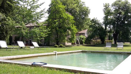 Chateau Beaupre Deleuze: La piscine