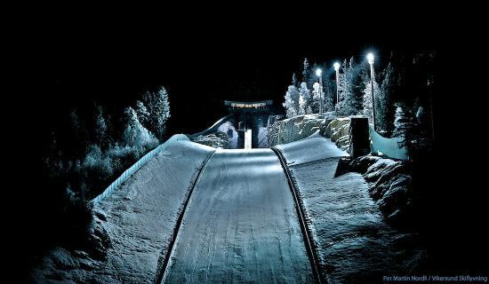 Vikersund Ski Jumping Center: The Ving