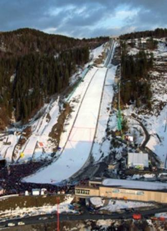 Vikersund Ski Jumping Center: Ski Flying hill in Vikersund