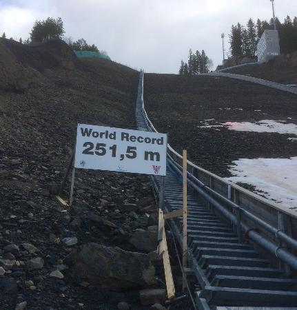 Vikersund Ski Jumping Center: World Record