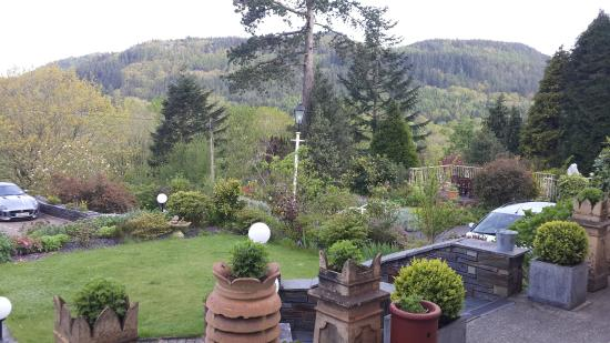 Aberconwy House : view from the hotel front porch