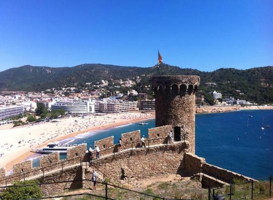 Tossa de Mar - Picture of Vila Vella (Old Town), Tossa de ...