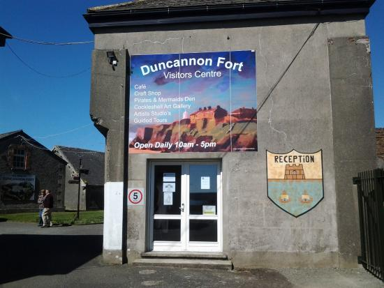 Duncannon Fort Visitor Centre: welcome to Duncannon fort
