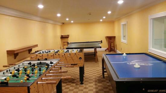 Game Room Picture Of Mountain View Grand Resort Spa Whitefield