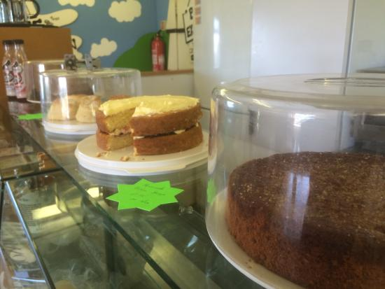 Porteath Bee Centre: Lovely food in the cafe @ the bee centre