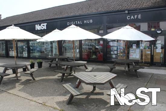 Cafe NeST: Front of the NeST