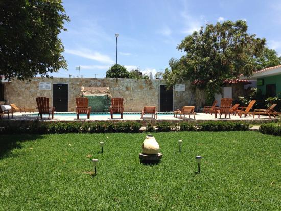 Hotel Los Chilamates: The pool area