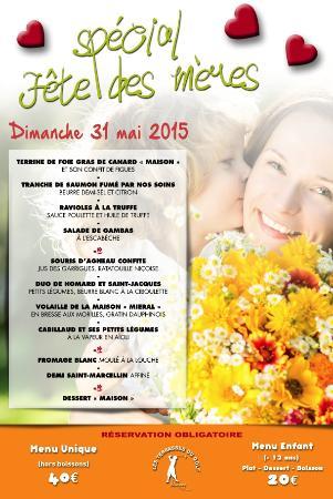 Mionnay, Francia: Uniquement sur réservation au 04 37 26 09 49