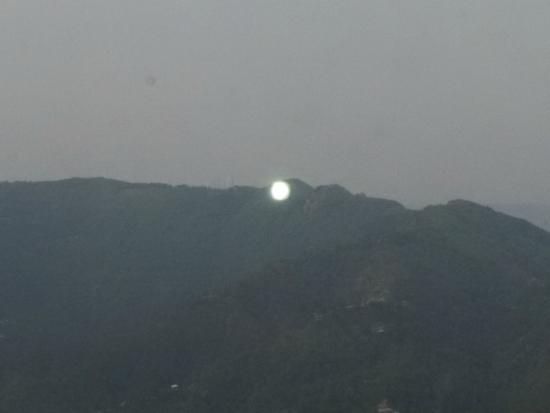 Hotel Rajdoot Shimla : view from room windows