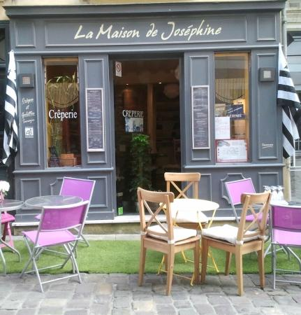 la maison de josephine rennes restaurant reviews phone number photos tripadvisor. Black Bedroom Furniture Sets. Home Design Ideas