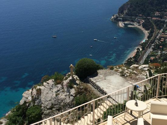 Spectacular view picture of le cafe du jardin eze for Cafe du jardin london