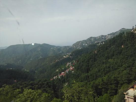Hotel Rajdoot Shimla : valley view