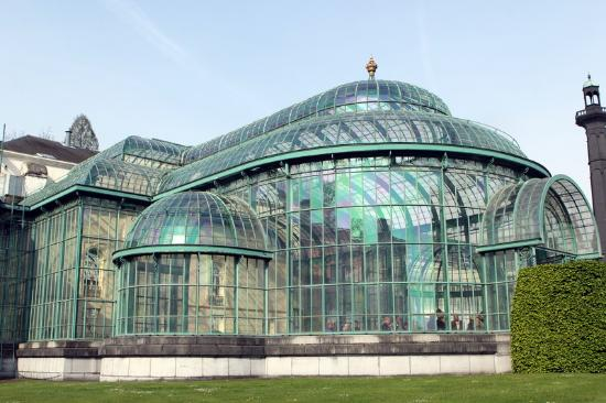 Serres Royales De Laeken : Внешний вид