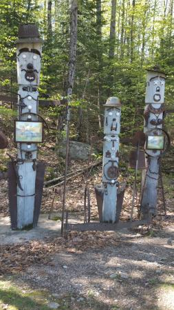Haliburton Sculpture Forest : Fun Artwork