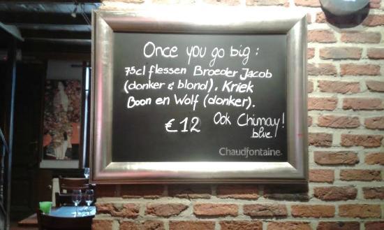 De Kansel: Once you go big...