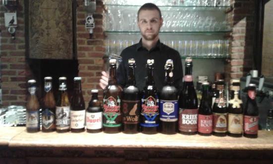 De Kansel: A large selection of Belgian beer
