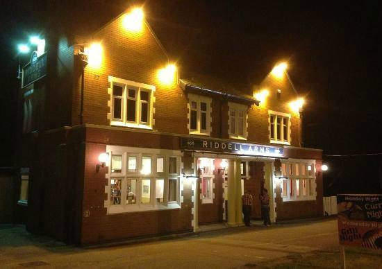 The Riddell Arms: Front