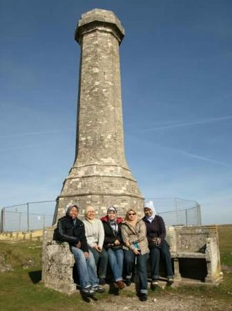 Hardy's Monument: @ Hardy monument
